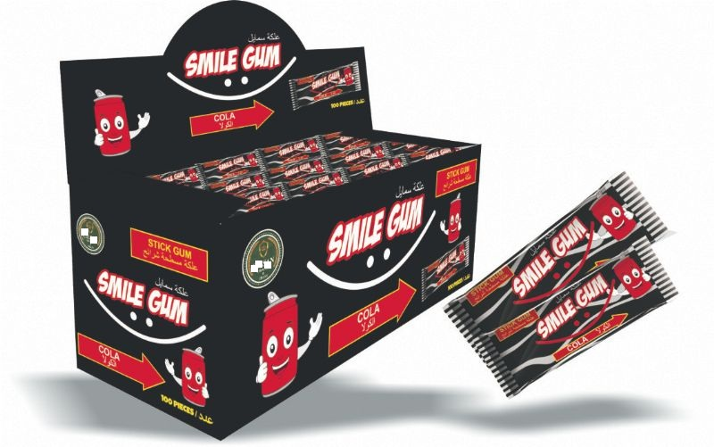 chiluxe -smile gum chewing gum