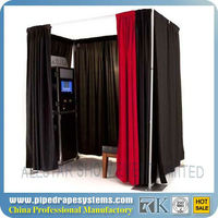 Sale Portable Photo Booth Pipe And Drape/Stands Photo Booth Enclosure