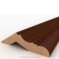 moulding decorative crown, mdf cornice