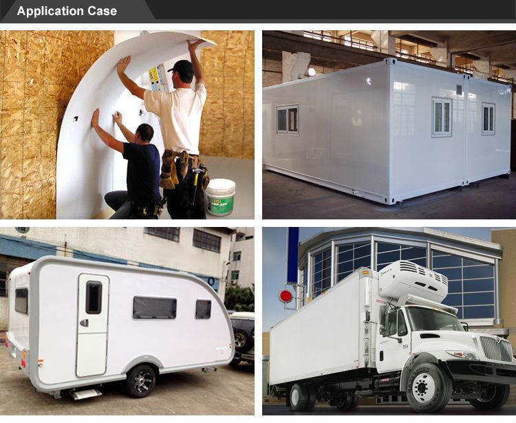 Frp Pp Honeycomb Panel For Trailer Caravan Horseboxes Body