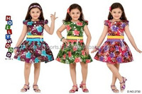 AlloverPrint Girls summer frock