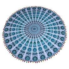 Indian Mandala tapestry mat
