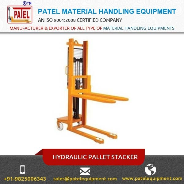 Widely Used Electric Stacker Walkie Stacker Power Stackers at Best Price