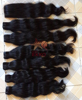 Unprocessed new star hair products 3pcs/lot Best quality virgin hair body wave extension machine weft hair weaves