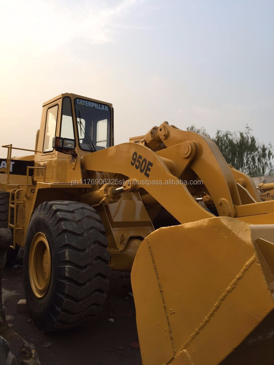 used original Caterpillar 950e cat 950 wheel loader for sale (whatsapp:0086-13817530084)