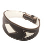 Wholesale dog leather collars Plain collars for dogs