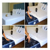 Breathable waterproof bed mattress