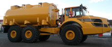 Fuel tank and lubrication truck combination 6x6. Germany