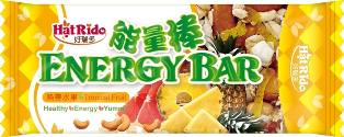 HatRido Energy Bar - Tropical Fruit flavor