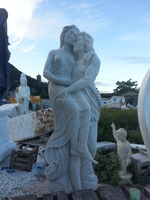 Classic statue in marble for home and garden