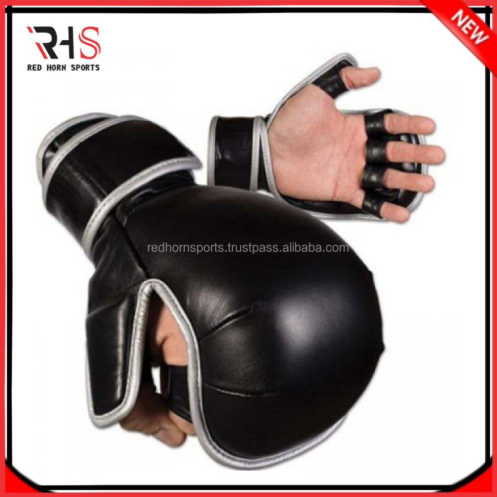 UFC sparring Gloves, Cowhide leather sparring gloves, Custom logos are accepted