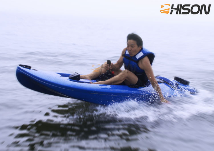 Wholesale high quality fishing boat motorized gasoline 130cc 20 HP power jet fishing kayak