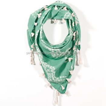 2017 New Collection Rayon Tie & Dye Beachwear/Casual Wear Designer Scarfs