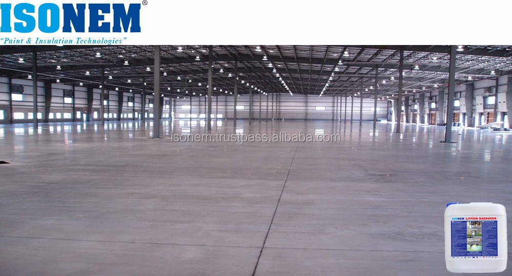 HOT SELLING!!!! ISONEM LITHIUM HARDENER, LIQUID CONCRETE FLOOR HARDENER, SEALER AND DENSIFIER