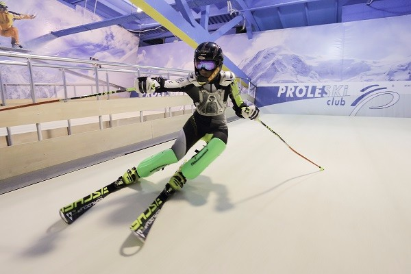Professional equipment for indoor skiing training Buy in Greece Proleski Endless dry slopes for biathlon roller skiing simulator