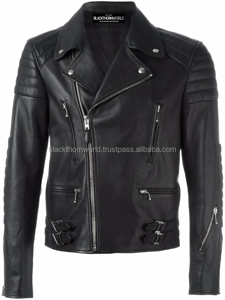 man leather jacket, pakistan leather jacket, High quality lamb leather jacket made in sialkot, Wholesale rate