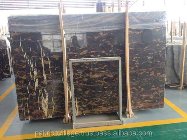 SMB Marble Black and Gold Marble portoro