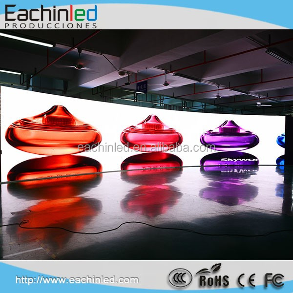 2016 Promotion SMD Curved LED Screen LED Video Panel P5.95 for Stage Concert & Events