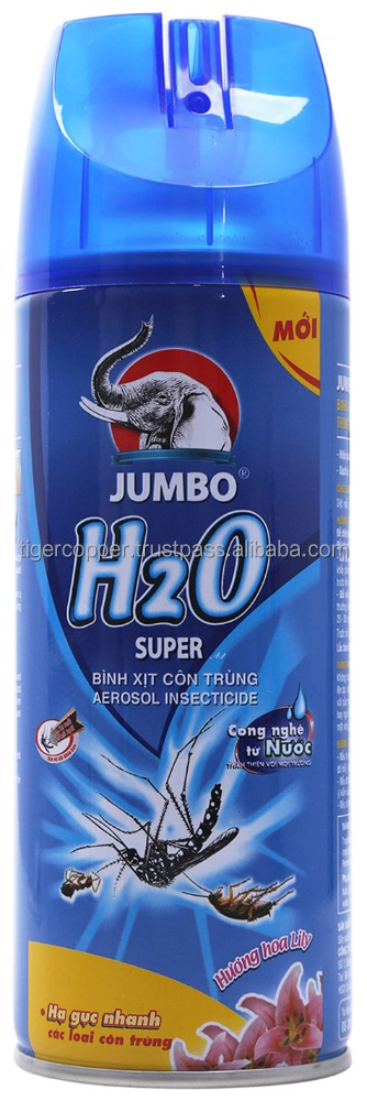 JUMBO H2O SUPER AEROSOL INSECTICIDE LILY FLAVOUR 300ML