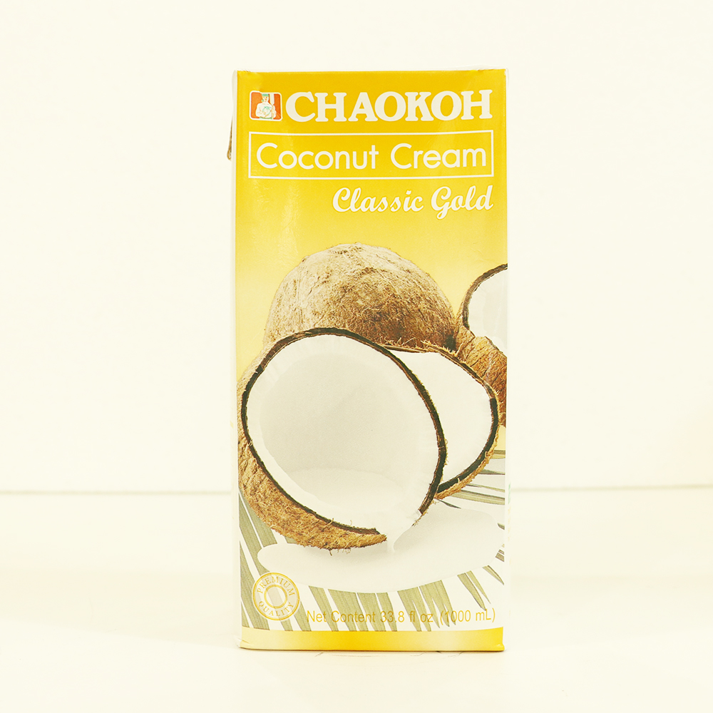 CHAOKOH UHT Coconut Cream Classic Gold Packed in Aseptic Box (1000 ml)
