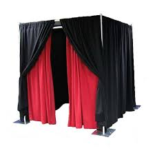 photo booth portable Pipe And Drape/Stands photo booth sales