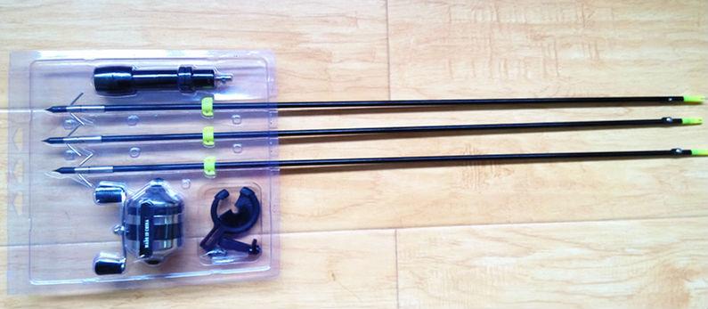 Junxing fishing wheel kit for fishing for fishing bow with for Fishing bow kit