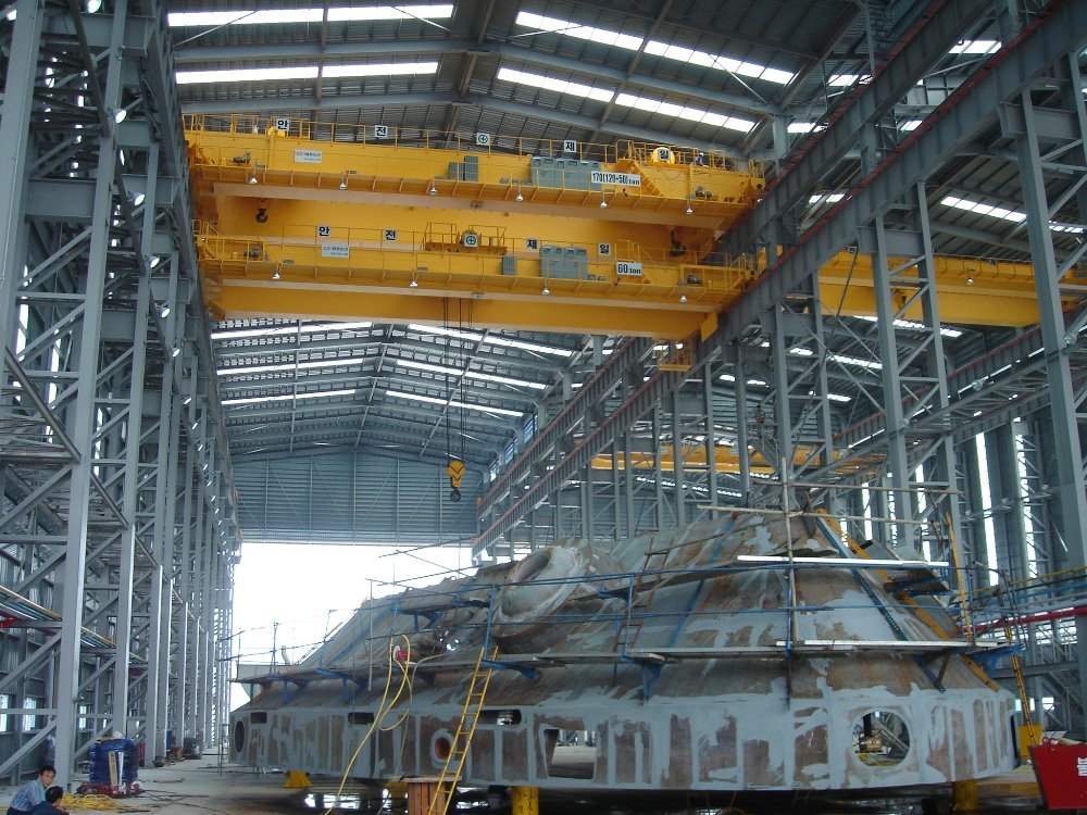 KOREA KUKDONG CRAB CRANE (OPEN WINCH)