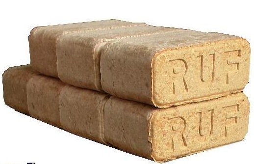 RUF Briquettes Available 15cm x 9cm x 6 cm