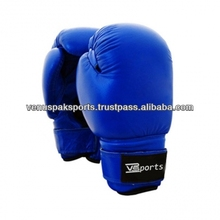 Professional BLUE BOXING GLOVES/SPARRING GLOVES/MMA GLOVES