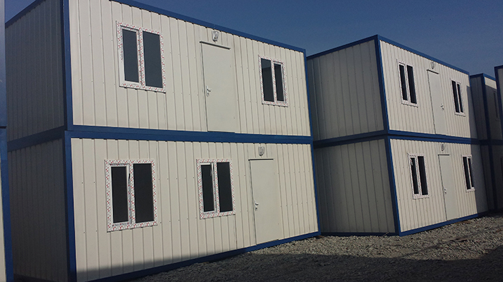 Turkish Prefabricated Houses Container Houses Sustainable Office Modular Prebaricated Houses Building Poultry Manufacturers