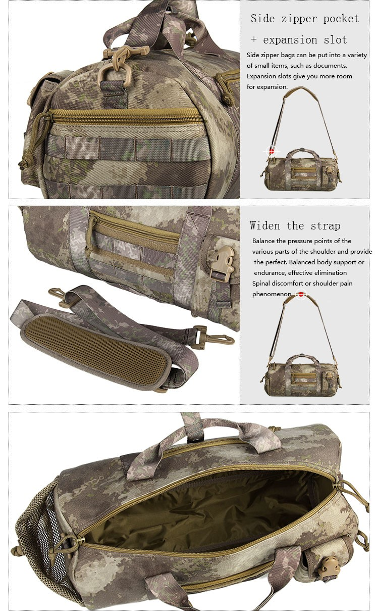 Army style tactical shoulder waterproof multi-functional best molle military tactical backpack bag CL5-0043