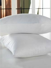 Plain Style Antiallergic and Antibacterial %100 Cotton Silicon Fiber Fiilled Two Pieces Pillow