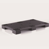 Plastic pallet: cube structure with vent system prevent from dampness, be capable of using forklift truck P1-1-Grey