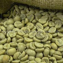 Wholesale Green Arabica coffee beans from Yunnan