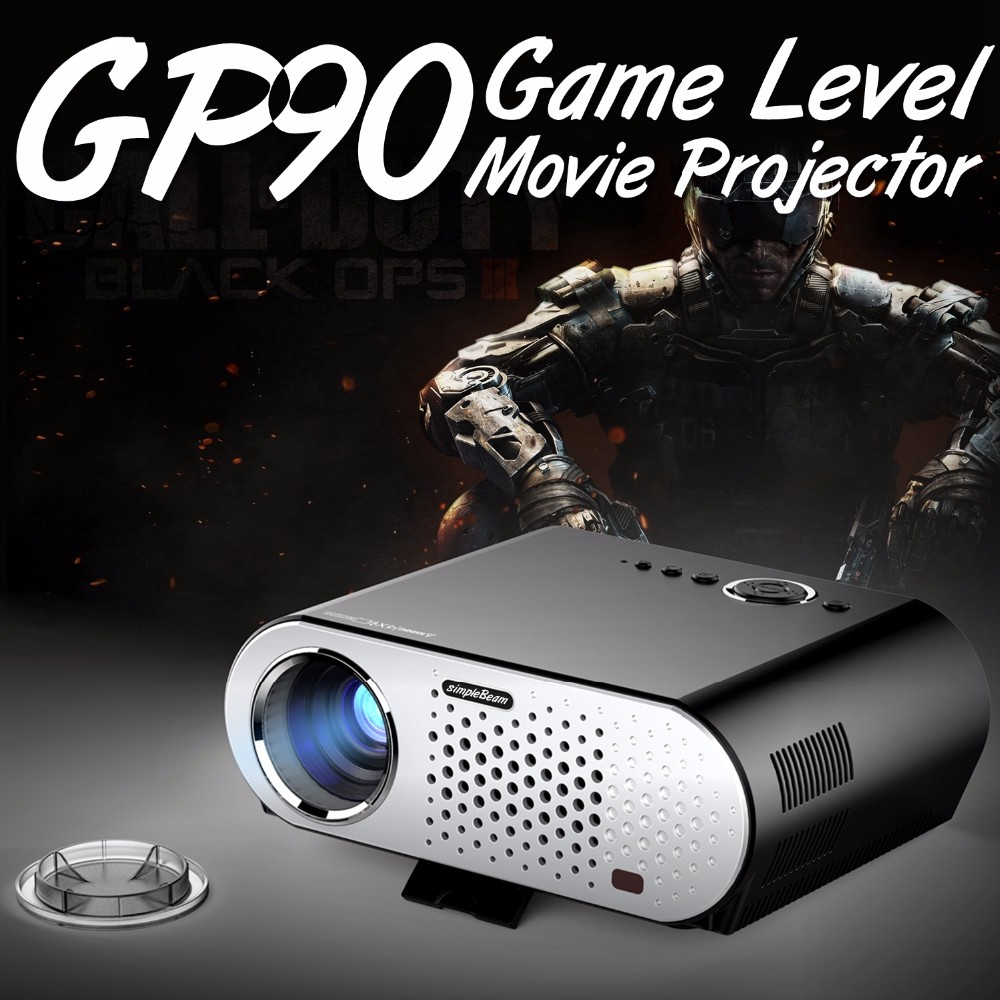 New arrival Discount(16th,March~10th,April),3200 lumens simplebeam projector GP90,1280x800 TOP Quality vivibright Projector led