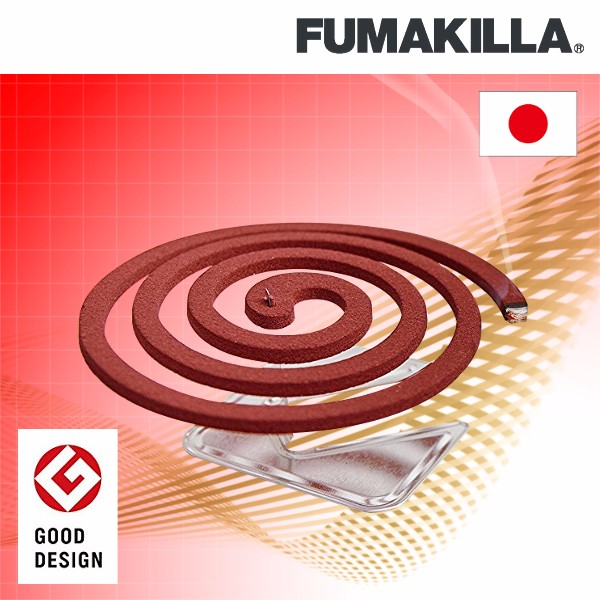 "Colorful dengue fever prevention ""FUMAKILLA aroma"" for household use"