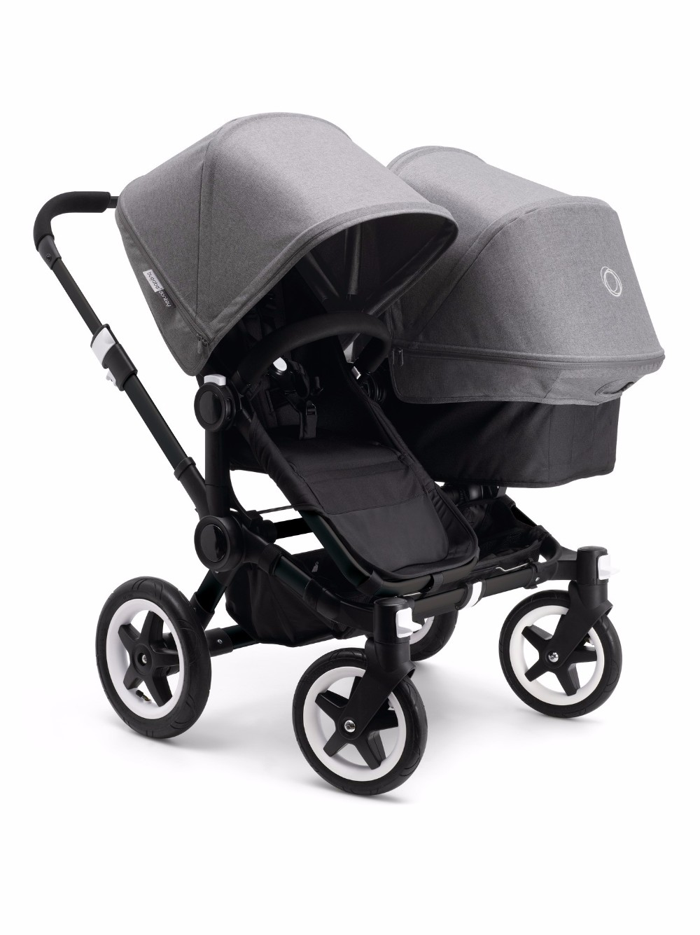 Hot Sales For Original Bugaboo Stroller, Black Fabric With Bassine Free Shipping