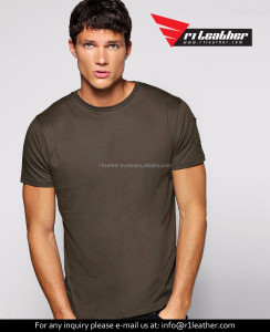 mens pima cotton blank custom t shirt from clothing factories in china