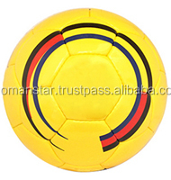 Best price customized hot selling footballs yellow color