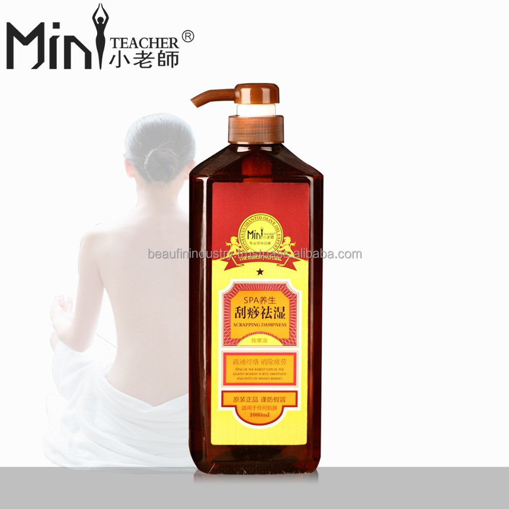 TOP sale high quality SPA health kidney maintenance body relaxing massage oil for salon use