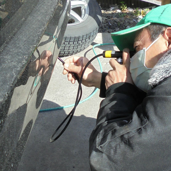 Waterproof flexible borescope for inspection automotive equipment