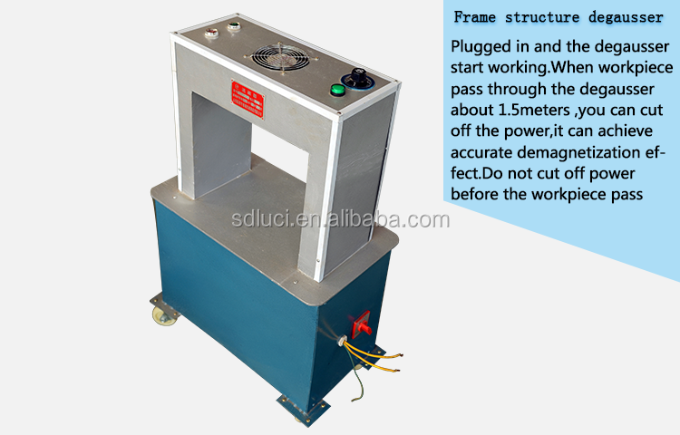 demagnetizer machine