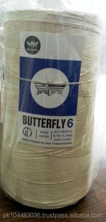 Kite Flying Thread - Cotton Glace Thread