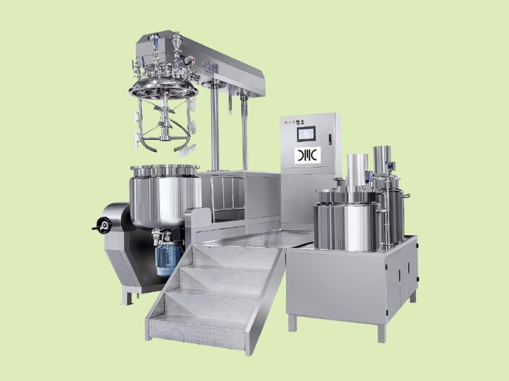 Vacuum Emulsifying Mixer Under-Homogenizer