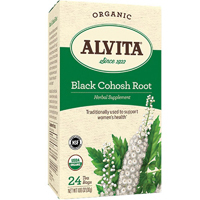 Black Cohosh Root Tea, 24 Bags by Alvita Teas