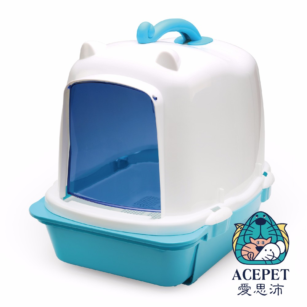 2017 New pet products Cat Clean Up Products new premium plastic Dome covered double layer drawer pet litter box,cat litter pan