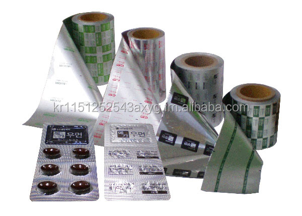 Blister Printed Aluminum Foil for Pharmaceutical Use