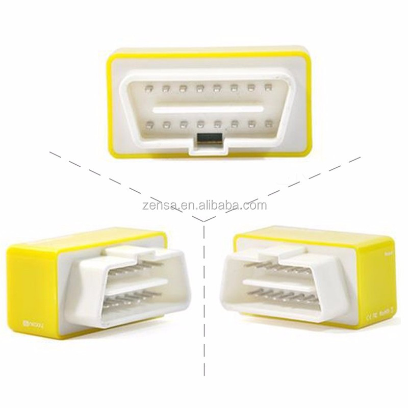 NitroOBD2 Chip Tuning Box for Benzine Cars - Yellow