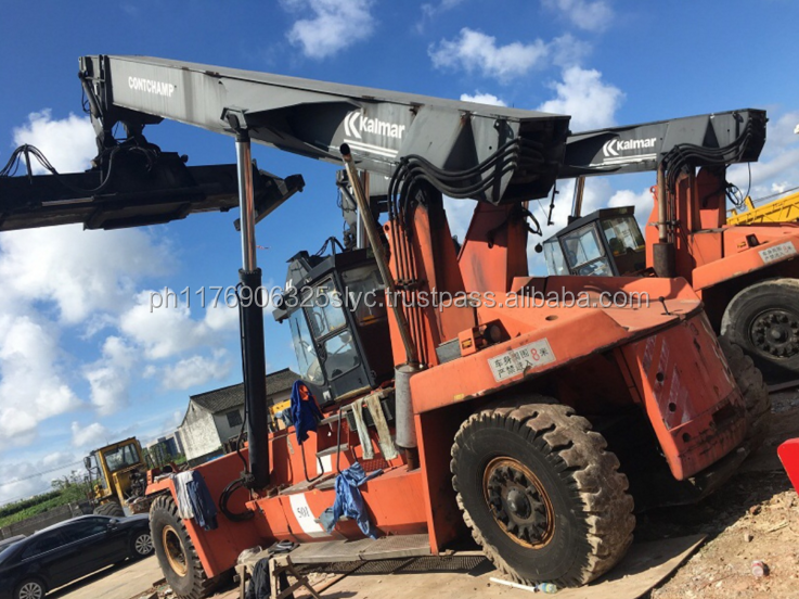 Big Forklift CS45KM 45 Ton Fantuzzi Used Container Reach Stacker For Sale