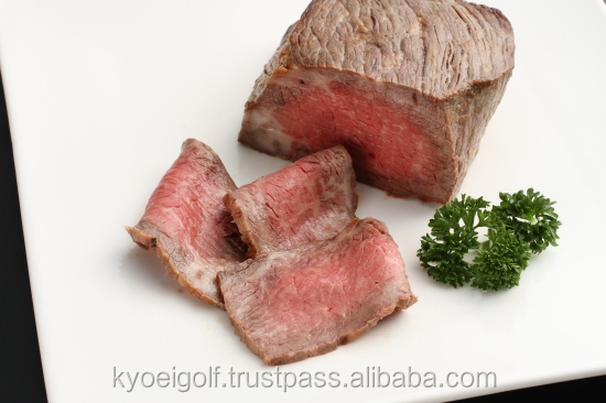 Premium and luxury Wagyu beef roasted, Japanese supplier